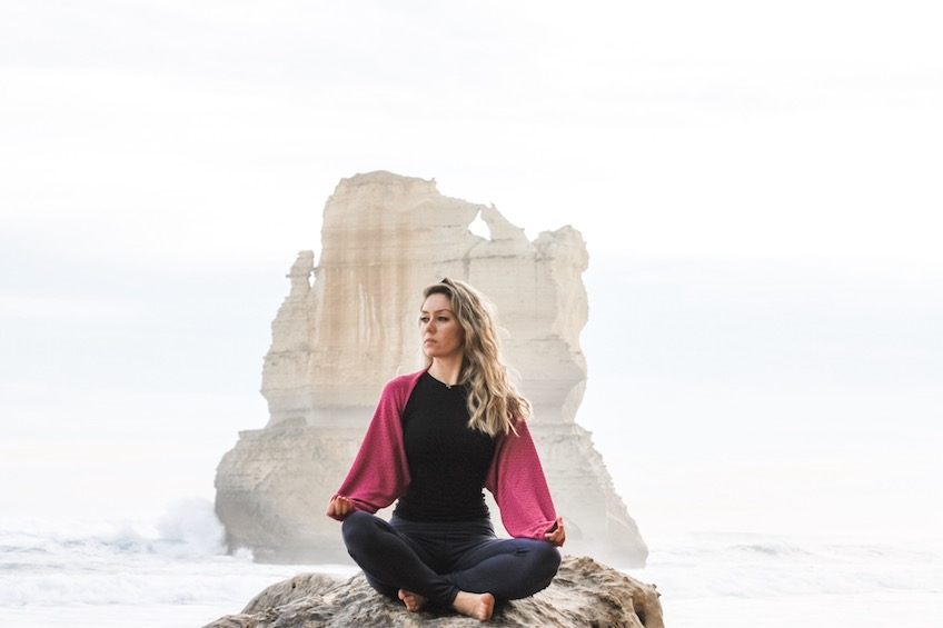Berna Gungoren Can yoga teacher