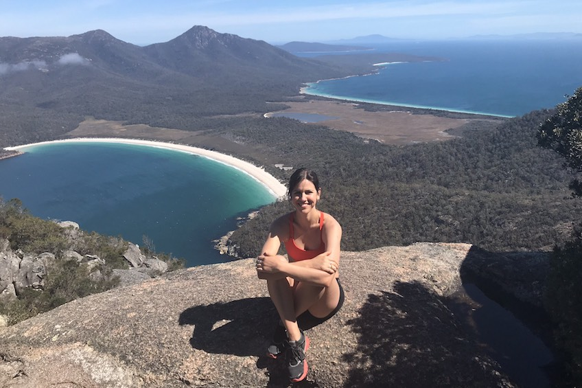 Luisa Burgoyne pilates instructor