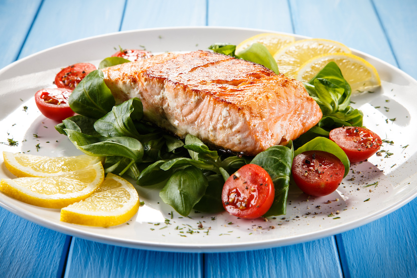 anti-inflammatory diet wild salmon